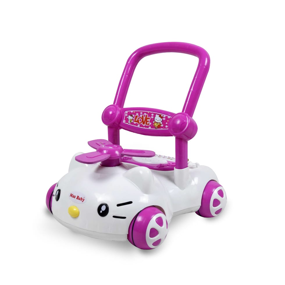 Baby Learn To Walk Push Toys Musical Songs English Mas Baby